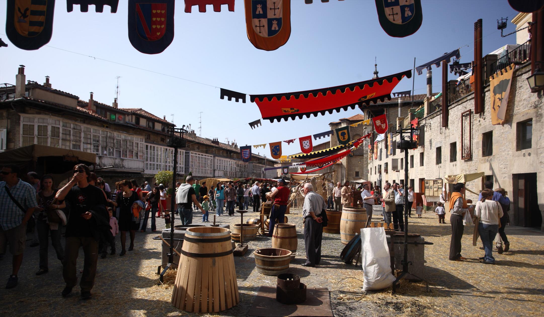 Mercado Medieval de Vitoria Gasteiz - Hotel Dato