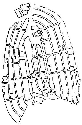 Mapa Almendra medieval Vitoriagasteiz