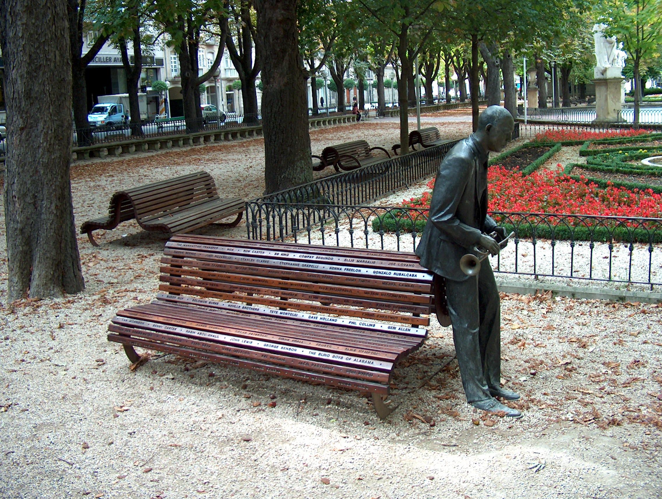 Monumento Wynton marsalis vitoria