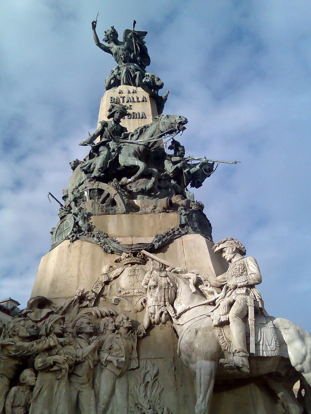 Monumento batalla Vitoria
