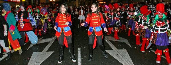 Comparsa carnaval vitoria-gasteiz