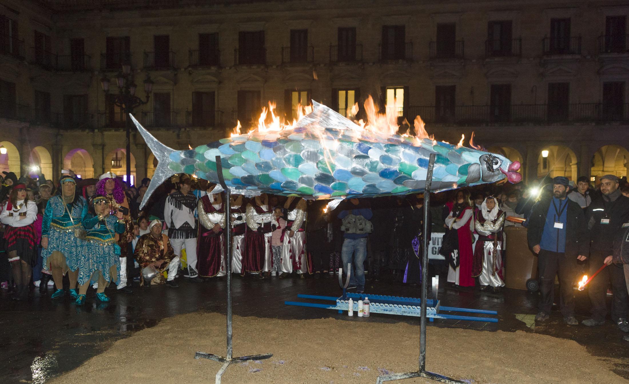 quema sardina carnaval vitoria gasteiz