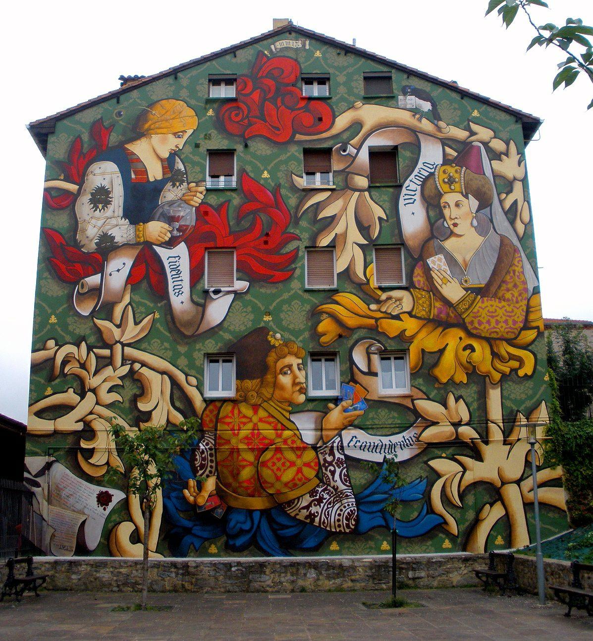 El triunfo mural vitoria