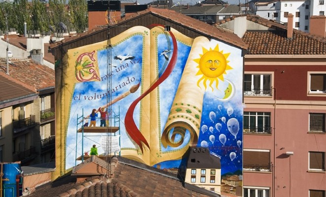 voluntario mural vitoria