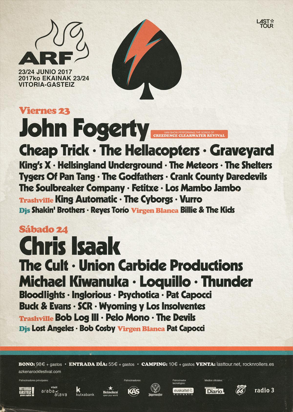 Akena Rock Festival cartel