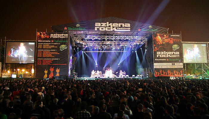 Akena Rock Festival escenario