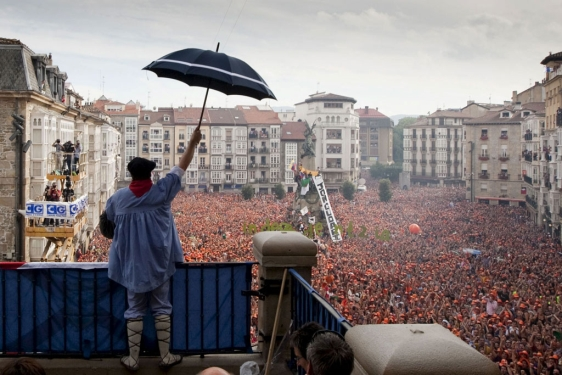 Vitoria-Gasteiz-Celedón-las fiestas-de-vitoria