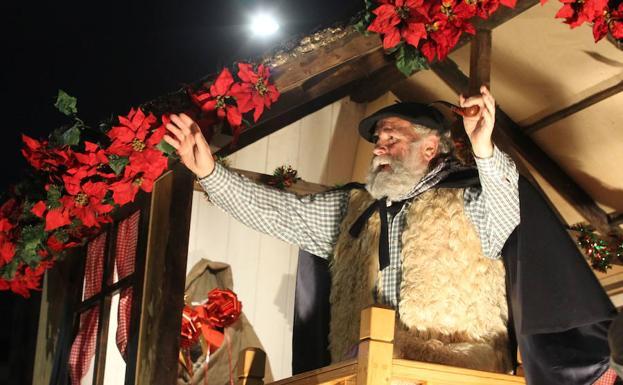 Olentzero Navidad Vitoria-Gasteiz