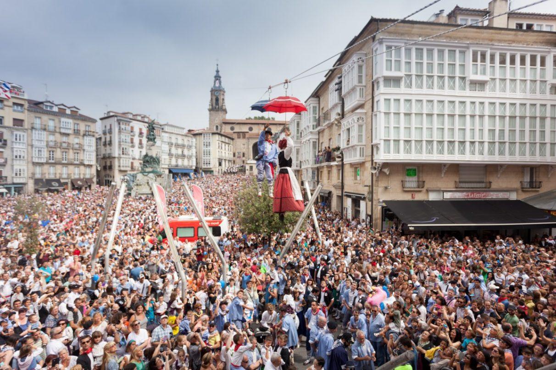 celedon-neska-txiki Fiestas de Vitoria-Gasteiz