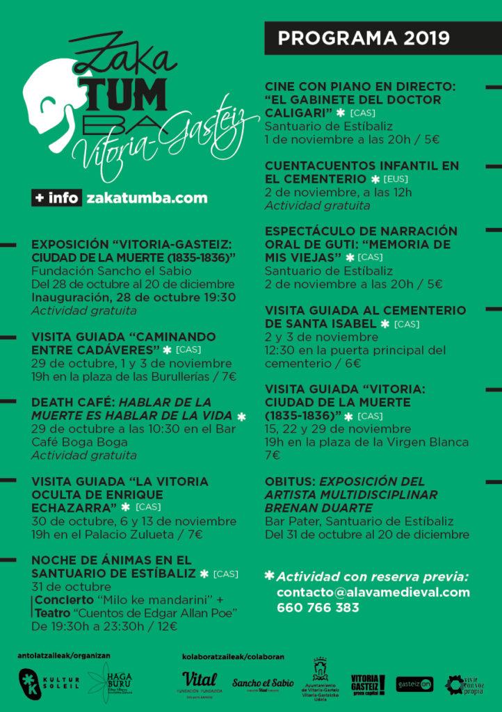 Programa Zakatumba 2019 Vitoria-Gasteiz
