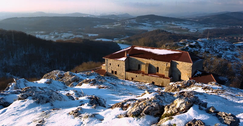 Santuario en Invierno